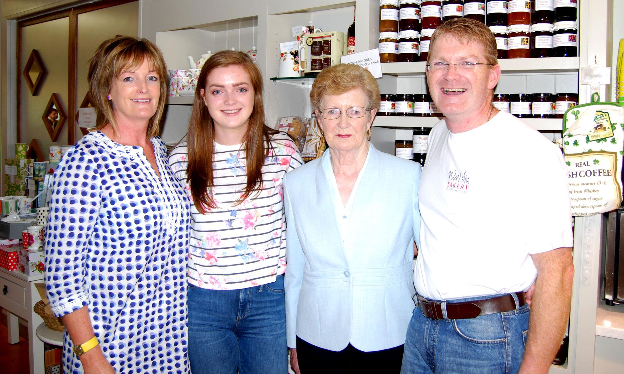 Three Generations ot the Walsh Family